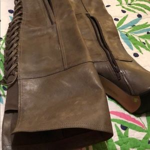 NWT Vince Camuto above the knee taupe boot size9.5